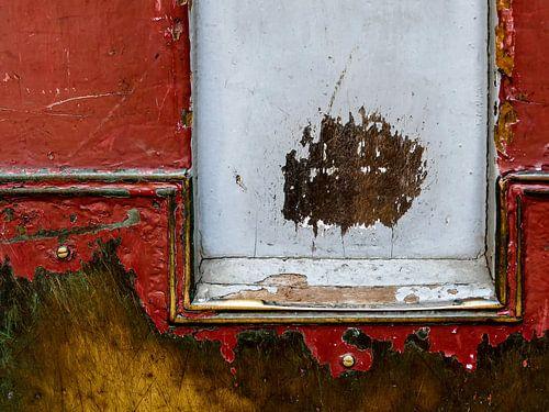 Details of an old door van