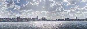 Zicht op Dordrecht en Zwijndrecht