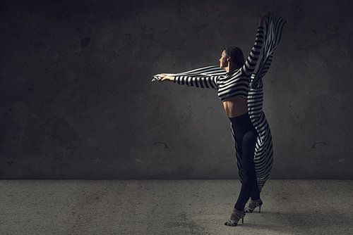 Dance with black and white