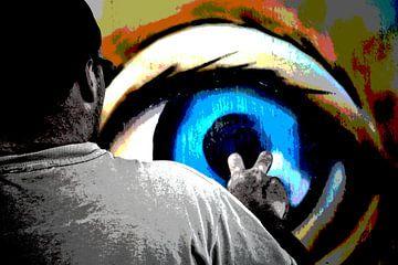Derrière les yeux bleus sur Claudia Moeckel
