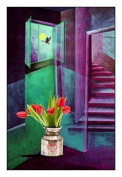 Spring messenger A sur Gertrud Scheffler