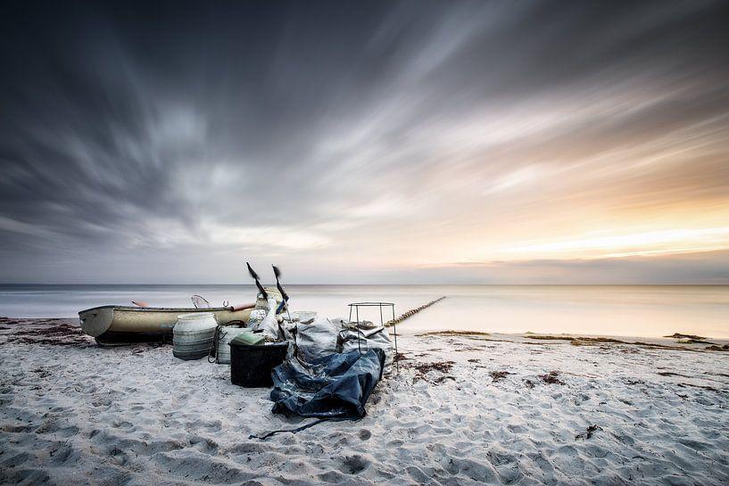 Goldstreif an Horizont von Florian Schmidt