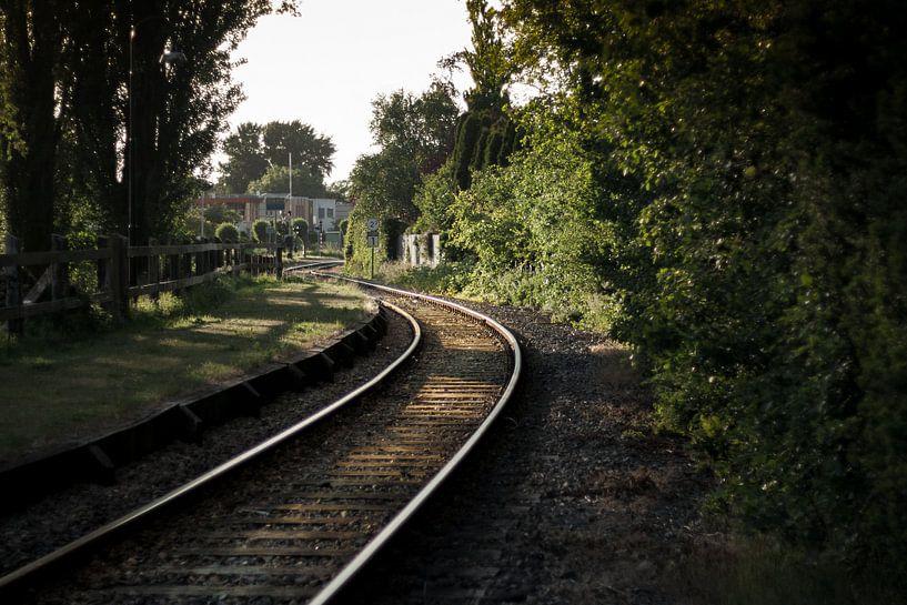 Treinrails van Chris Tijsmans