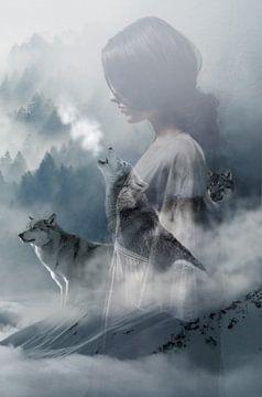 Kiyaya - 'Howling Wolf' van Rudy en Gisela Schlechter