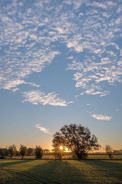 Zonsopkomst met mooie lucht 01 von Moetwil en van Dijk - Fotografie