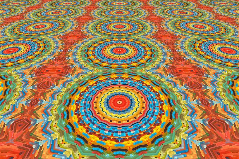 Mandala perspectief van Marion Tenbergen
