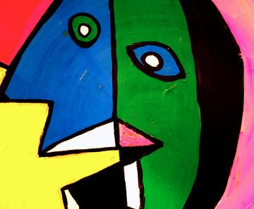 Picasso 1 van Ada Krowinkel