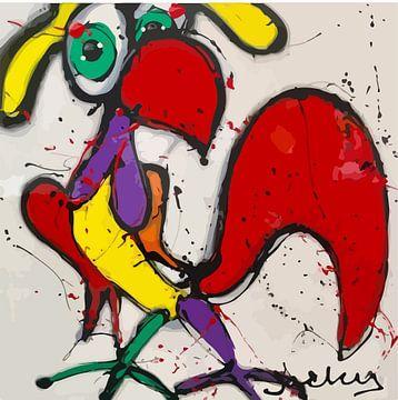 Rooster sur Jacky Zegers