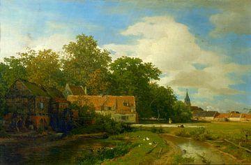 Andreas Achenbach, Westfälische Mühlen - 1869 von Atelier Liesjes