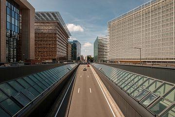 Rue Loi, Brussel sur Gert Bakker