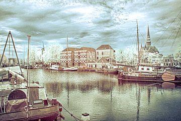 Oude Haven in Gouda van Ad Van Koppen