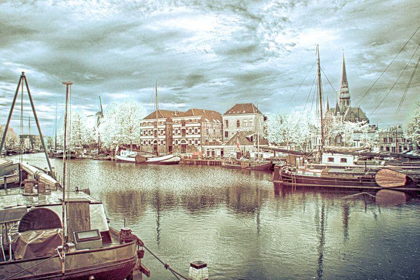 Museumhaven in Gouda. van Ad Van Koppen
