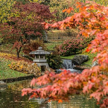 Japanse Tuin in Hasselt (B) van Martine Dignef