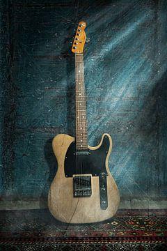 Guitare électrique Telecaster sur Bert-Jan de Wagenaar