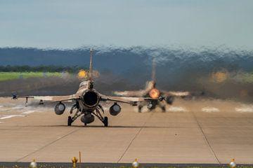 Historie werd geschreven in 2020: F-16's van de Israëlische Luchtmacht stijgen op vanaf Fliegerhorst van Jaap van den Berg