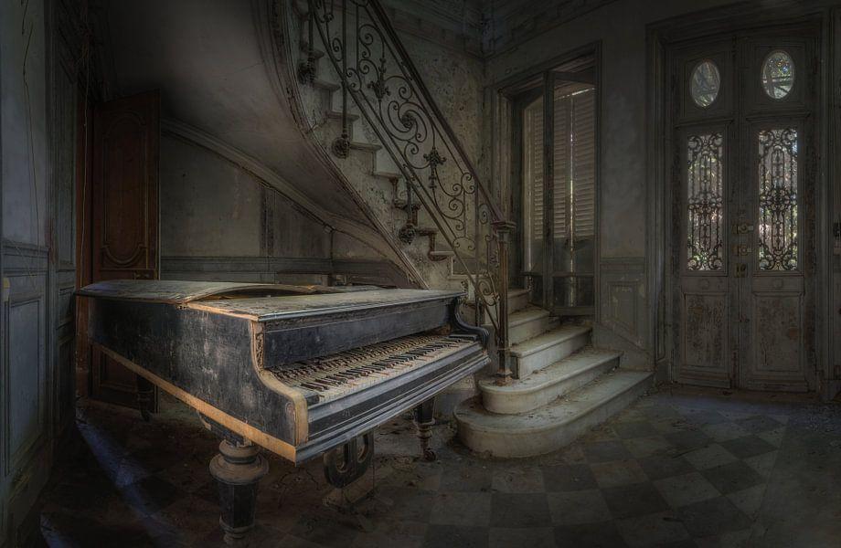 We wachten op de pianist!