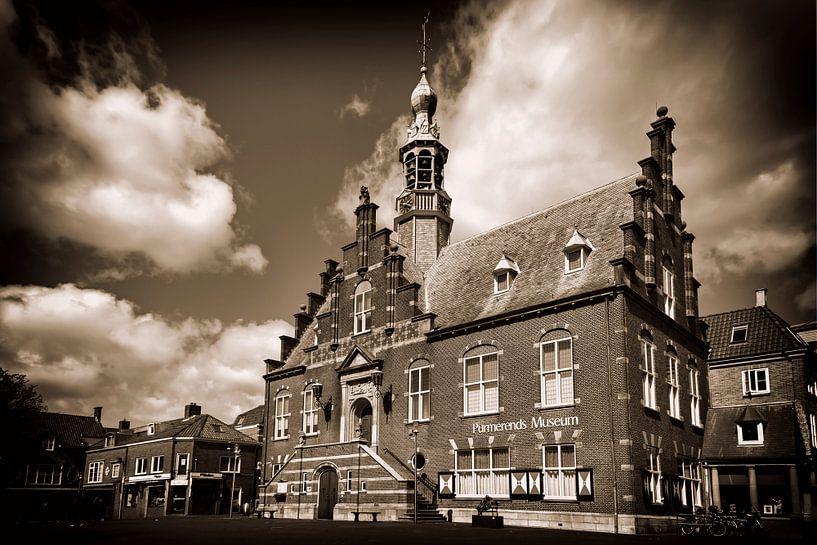 Oude stadhuis van Purmerend van Jan van der Knaap