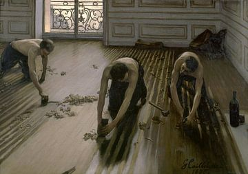 Die Bodenplaner, Gustave Caillebotte