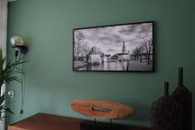 Klantfoto: Historisch Breda Spanjaardsgat van JPWFoto, op canvas