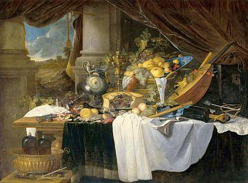 Ein Bankett-Stillleben, Jan Davidsz de Heem
