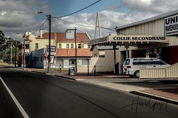 Forest Street, Collie WA. von Hans Peter Goepel