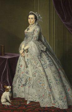 Porträt von Cecilia de Clercq, Tibout Regters