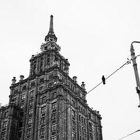 Sovjet architectuur & een vogel van Niels Eric Fotografie