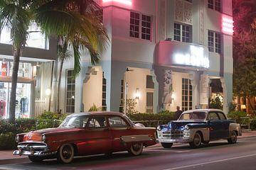 Miami Beach - Oldtimer im Art Deco Viertel von t.ART