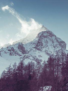 Zonsopkomst in de Alpen sur