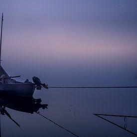 Boot in de mist van Tonny Verhulst