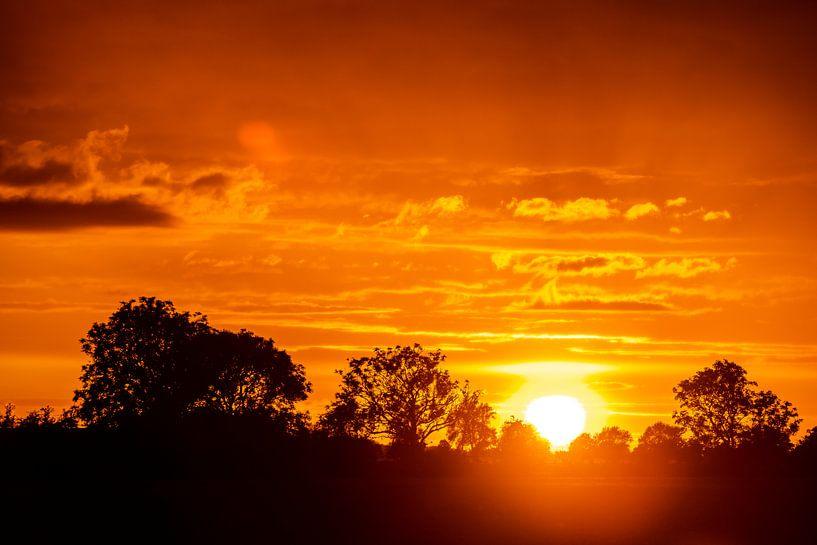 Zonsondergang van Stephan Zaun
