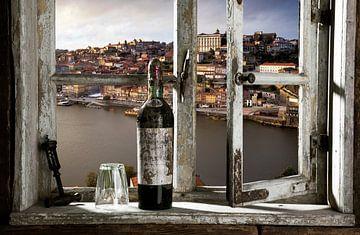 Blick auf Porto von Jürgen Wiesler