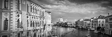 VENICE Canal Grande & Santa Maria della Salute van Melanie Viola