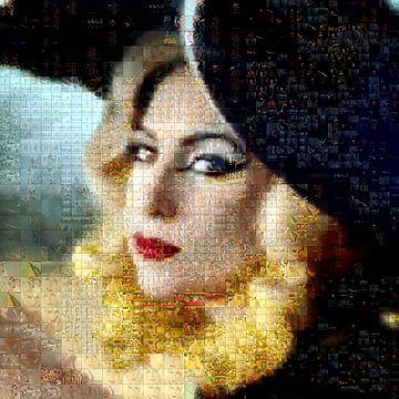 Mosaik Lady Gaga von
