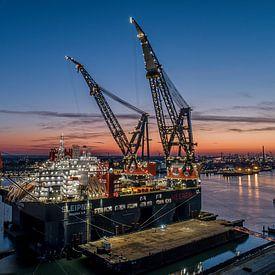 Crane Vessel Sleipnir van Klaas Doting