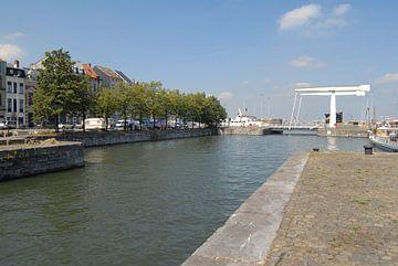 Verbindingsdok en Londenbrug | Antwerpen van Rafael Delaedt