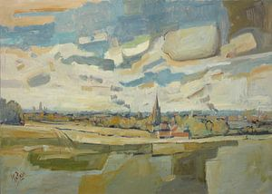Panorama Maastricht von Nop Briex