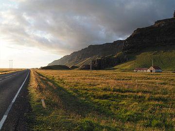 Highway 1 Horizon - IJsland von Justin van Schaick