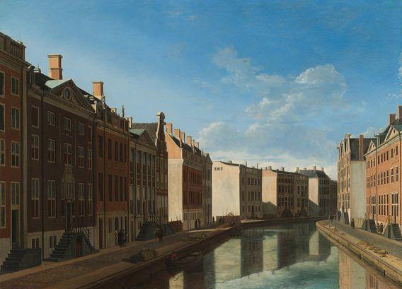 Gerrit Adriaensz. Berckheyde. Gezicht op de Gouden Bocht in de Herengracht,  Amsterdam