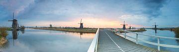 World Heritage Site Kinderdijk sur Jan Koppelaar