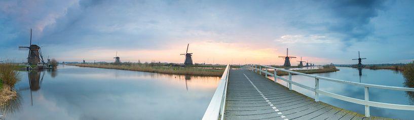 Werelderfgoed Kinderdijk van Jan Koppelaar