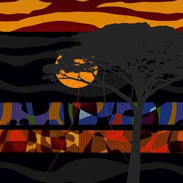 African Impression sur Andreas Wemmje