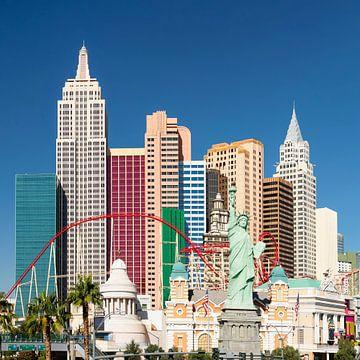 New York Hotel & Casino, Las Vegas, Nevada, USA von Markus Lange