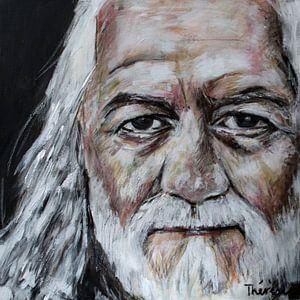 Portret van Mick Fleetwood, Michael John Kells