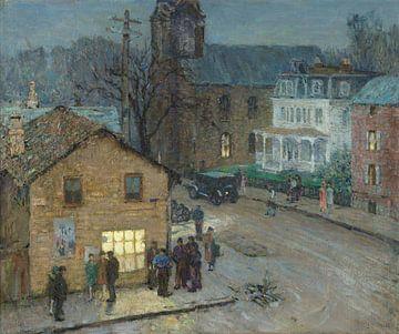Henry B. Snell-Der Friseurladen