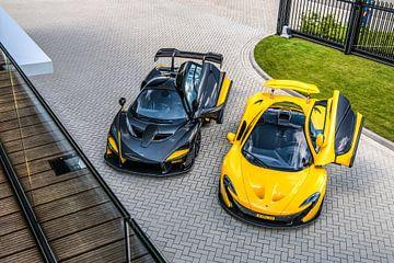 McLaren Senna en McLaren P1 van Bas Fransen