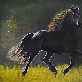 Fries paard van Jan Wiersma