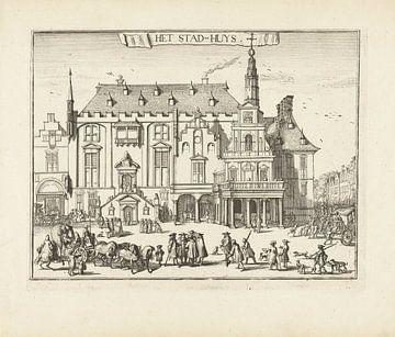 Das Rathaus von Haarlem, Romeyn de Hooghe