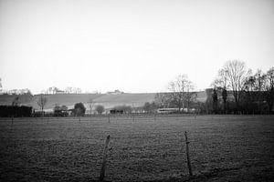 Landschap met Apostelhoeve bij Maastricht van