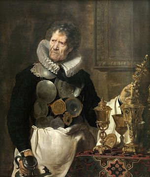 Bildnis von Abraham Grapheus, Cornelis de Vos